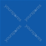 "Coloured Gel Sheet 48""x21"" - Colour Medium Blue 132"