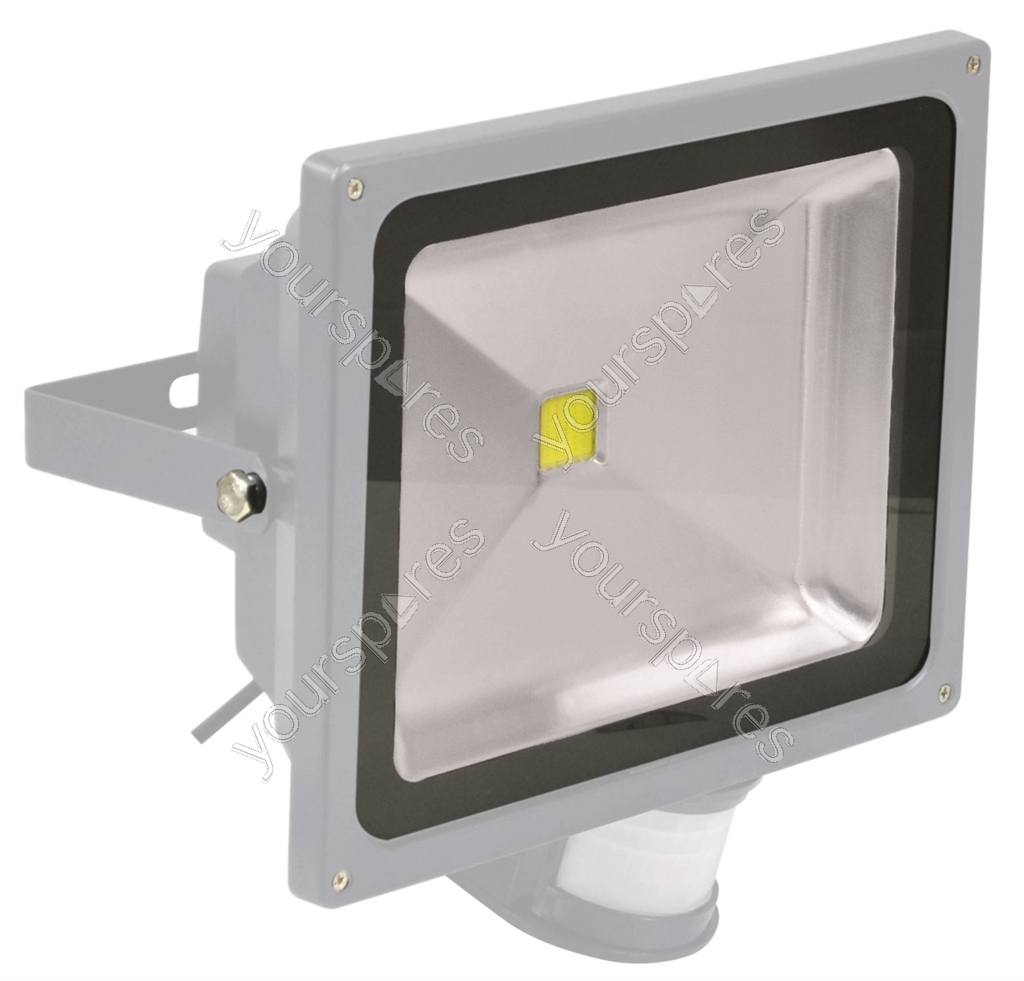 Outdoor Light Pir Override: Eagle 50W LED Flood Light With PIR And PIR Override