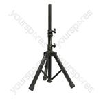 NJS 35mm Short Adjustable Aluminium PA Speaker Stand