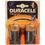 2 x Duracell D Alkaline Batteries