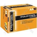 Duracell Industrial Alkaline Batteries (Box of 10) - Type AA