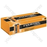 Duracell Industrial Alkaline Batteries (Box of 10) - Type PP3(9V)