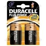 Duracell Alkaline Batteries - Type D