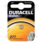 Duracell Silver Oxide Button Cell - Type 377/376