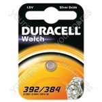 Duracell Silver Oxide Button Cell - Type 392/384