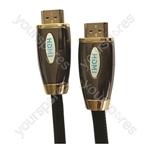 Premium Digital Screened HDMI to HDMI TV and Video Lead Black - Lead Length (m) 2