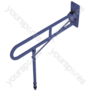 Solo Contract Hinged Arm Support - Colour Blue
