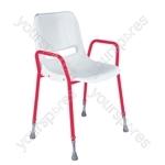 Milton Stackable Portable Shower Chair - Configuration