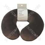 Memory Foam Neck Cushion - Colour Brown