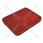 Aidapt Memory Foam Contour Travel Pillow - Colour Red