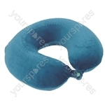 Memory Foam and Gel Neck Cushion - Colour Green