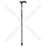 Deluxe Folding Walking Cane - Colour Sakura