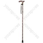 Deluxe Folding Walking Cane  - Colour Femme