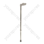 Aidapt Ergonomic Aluminium Walking Stick - Size Medium