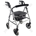 Lightweight Rollator - Colour Silver