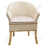 Luxury Basketweave Commode