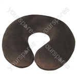 Spare Cover for Blue Memory Foam Neck Cushion - Colour Brown