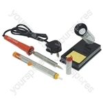High Quality Mains Powered Soldering Iron Kit - Power (W) 80
