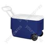 Wheelie Cool 38 Coolbox - Blue/White
