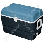 Maxcold 50 Coolbox - Grey/Blue