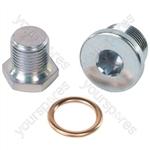 Sump Plug & Washer - Peugeot/Citroen - M22