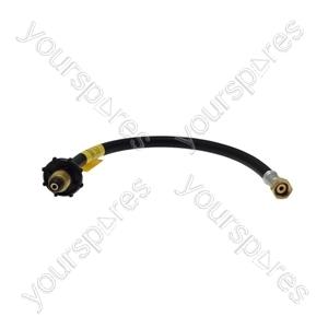 Semperit 450mm Handwheel Straight Through Pigtail Connector - POL x W20