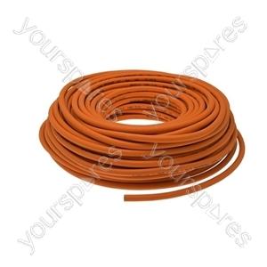 Semperit Propane Gas Hose - Orange - 6.3mm x 50m