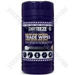 Micro-Beaded Heavy-Duty Trade Wipes - Tub of 80