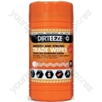 Smooth Heavy-Duty Trade Wipes - Tub of 80