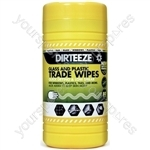 Glass & Plastic Trade Wipes - Tub of 80