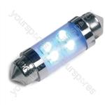 LED Bulb - 12V 11 X 38Mm-LED - Blue