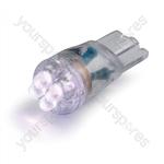 LED Bulb - 12V T10-LED - White - 9.5mm