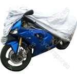 Water Resistant Motorcycle Cover - Small - Up to 1.98m