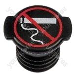 Cigarette Lighter Adaptor Blanking Plug - Black