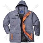 Texo Contrast Rain Jacket - Charcoal - Small