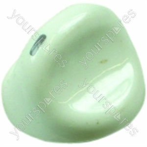 Indesit White Cooker Knob Assembly