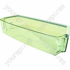 Indesit Clear Plastic Fridge Door Bottle Shelf