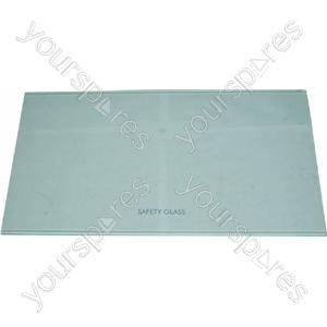 Indesit Fridge Glass Shelf - 478mm x 261mm X 4mm