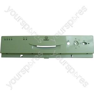 Indesit White Dishwasher Control Panel / Dashboard