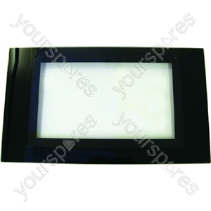 Indesit Oven Black Glass Main Door
