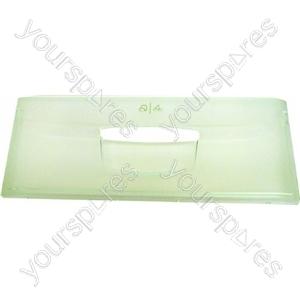 Indesit Clear Plastic Refrigerator Crisper Drawer Front