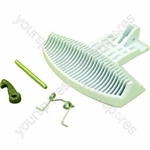Indesit White Washing Machine Handle Kit