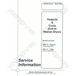 Hotpoint BWD12 Service Manual