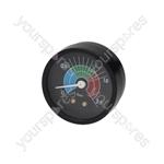 Cimbali Coffee Machine Boiler Pressure Gauge ø 57 Mm 0÷2.5 Bar