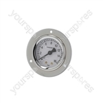 Bianchi/Faema/Fiorenzato C.s. Coffee Machine Pump Pressure Gauge ø 52 Mm 0÷16 Bar