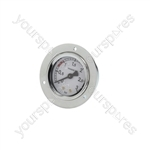 Bfc/Bianchi/Faema/Fiorenzato C.s. Coffee Machine Boiler Pressure Gauge ø 52 Mm 0÷3 Bar