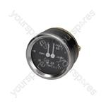 Futurmat-ariete/Gaggia Spagna/Italcrem/Mairali Coffee Machine Boiler-pump Pressure Gauge ø 60 Mm