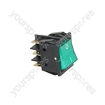 Bezzera B3000 Coffee Machine Green Bipolar Change Over Switch 16a 250