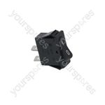 Barline/Cab/Ceado/Cofrimell Icemaker Switch 1-pole Black 16a 250v