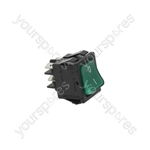 Adler/Fri Fri/Friulinox/Gaggia Dishwasher Bipolar Switch Green 16a 250v